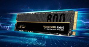 SSD Professional NM800 de Lexar