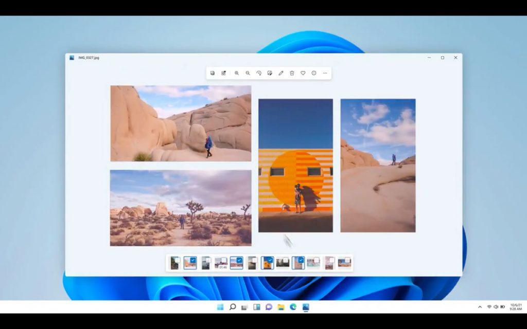 Windows 11 et la nouvelle application Photos