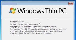 Windows Thin PC alias Windows TP