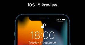 Système d'exploitation iOS 15 d'Apple
