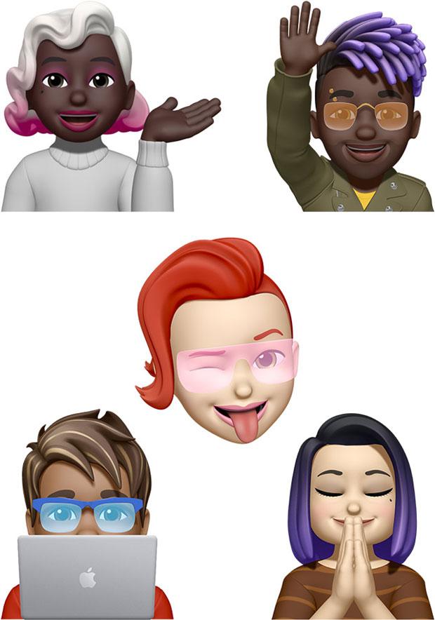 iOS 15 - Nouveaux Memoji