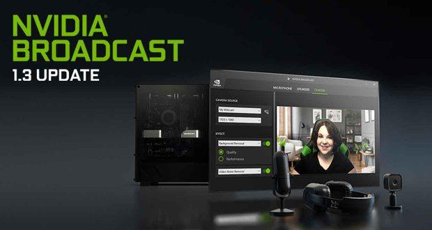 Nvidia Broadcast 1.3