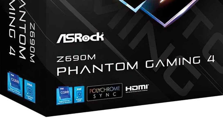 ASRock Z690M Phantom Gaming 4