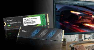 SSD NVMe PCIe 3.0 x4 Apacer AS2280P4U et AS2280P4U Pro