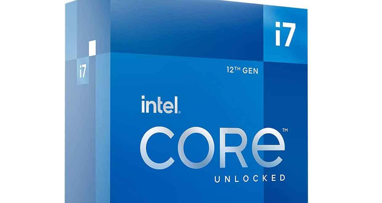 Processeur Core i7-12700K d'Intel