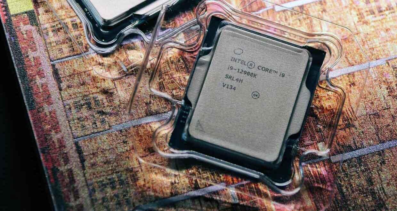 Cliché du Core i9-12900K Alder Lake-S d'Intel
