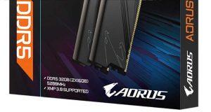 Kit mémoire Aorus Memory 2 x 16 Go de DDR5-5200 MHz