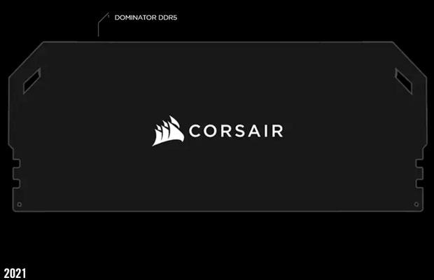 Barrette mémoire Corsair Dominator DDR5