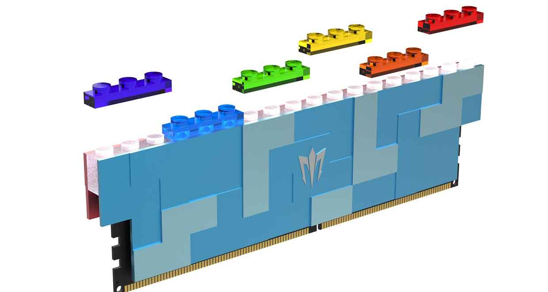 Barrette mémoire Galax Gamer RGB DDR5