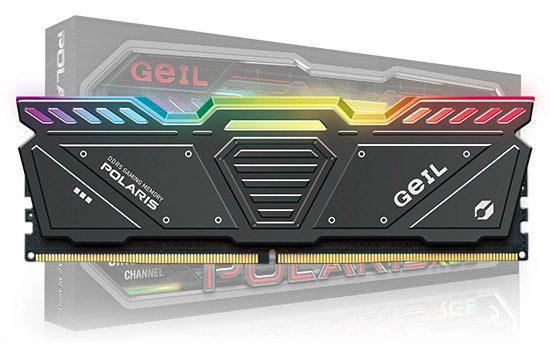 Barrette mémoire GEIL Polaris DDR5 (noire)