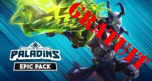 Le pack Epic de Paladins