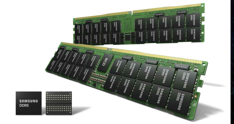 DDR5 14 nm de Samsung