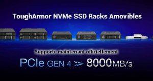 Racks amovibles ToughArmor NVMe SSD
