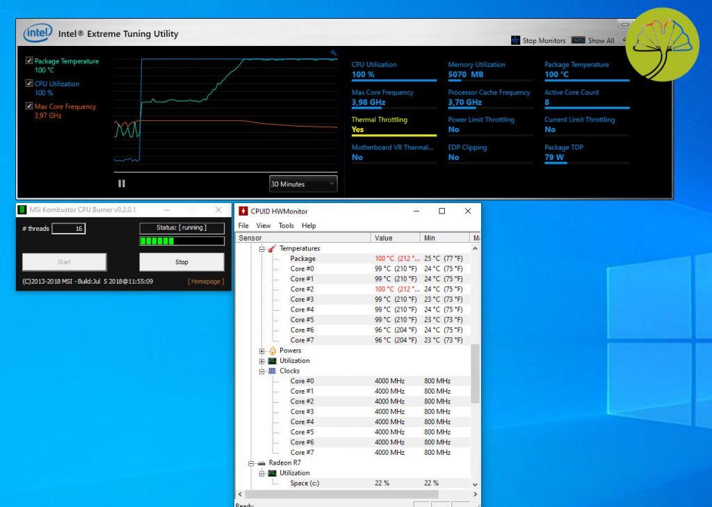 Core i9-9900K en situation critique